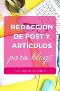 Servicio de redacción de post para blog