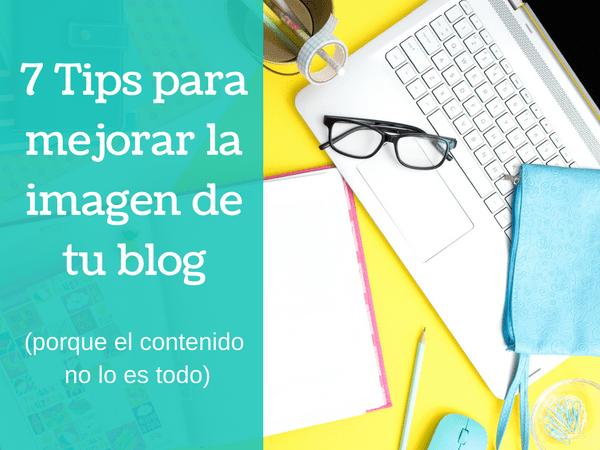 Tips para mejorar la imagen de un blog