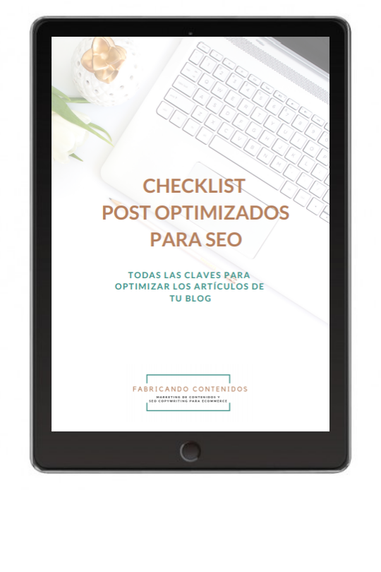 Checklist redaccion SEO