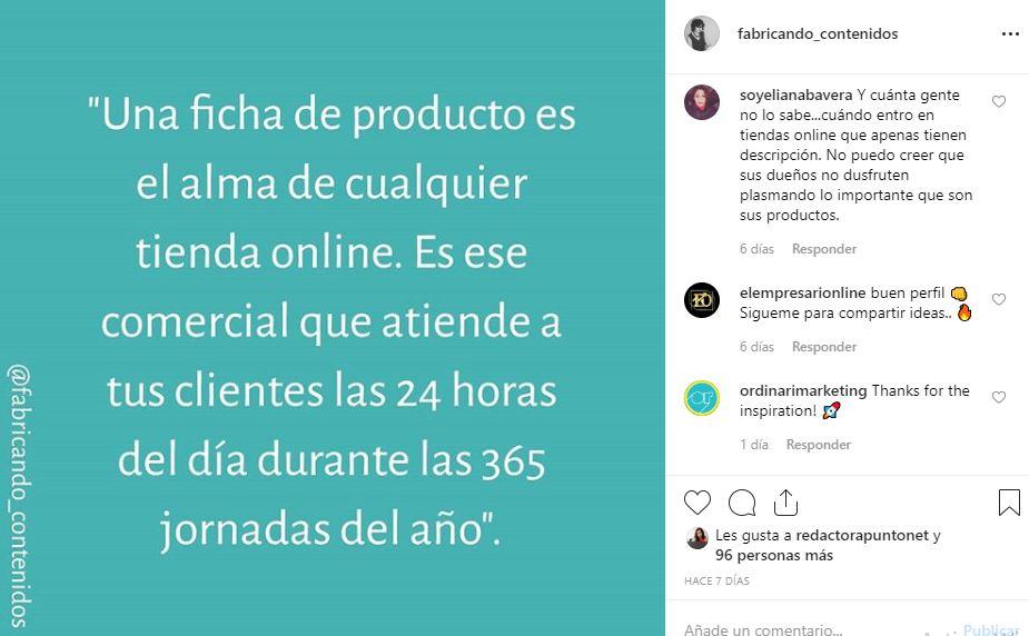 Aprovechar el contenido de tu blog en Instagram